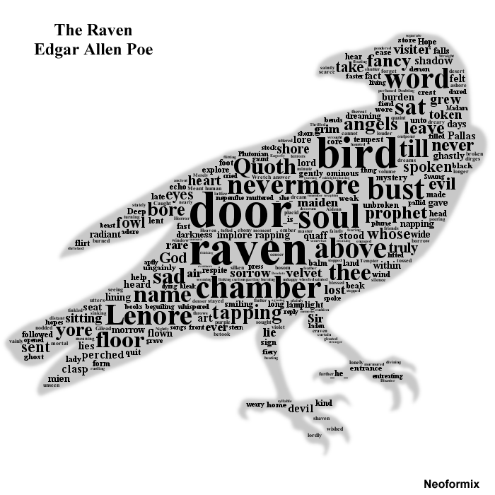 MrsTolin - The Raven, by Edgar Allan Poe
